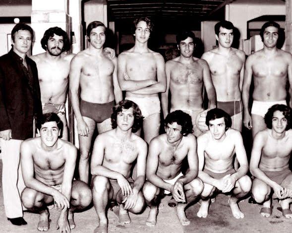 Παναθηναϊκός πόλο 1971 - Γιάννης Μποσταντζόγλου