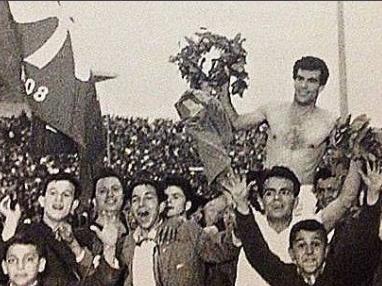 Βαγγέλης Πανάκης 1964 αήττητο πρωτάθλημα Παναθηναϊκός