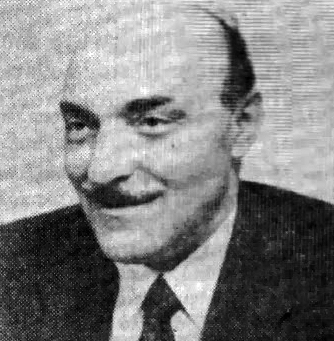 O πολιτικός Βάσος Στεφανόπουλος, μέλος του Παναθηναϊκού
