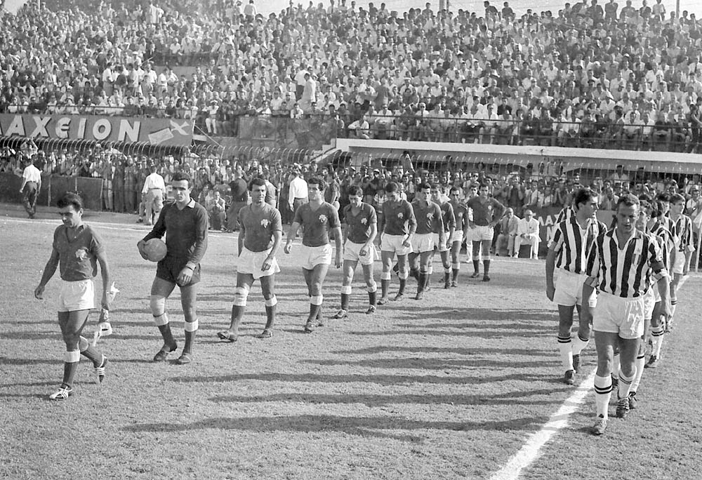 1961, Παναθηναϊκός - Γιουβέντους 1-1, Paopedia.gr