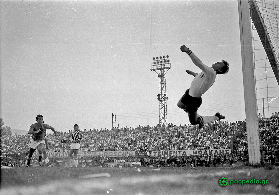 1961 - Παναθηναϊκός - Γιουβέντους 1-1. Το γκολ του Ανδρέα Παπαεμμανουήλ - paopedia.gr