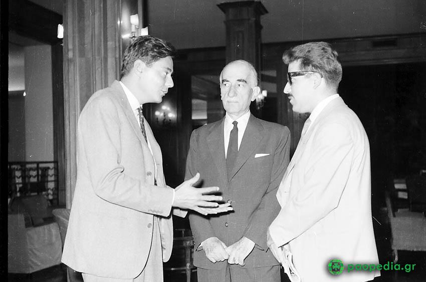 Παναθηναϊκός - Γιουβέντους 1-1, 1961. Ουμπέρτο Ανιέλι, Ιωάννης Μοάτσος